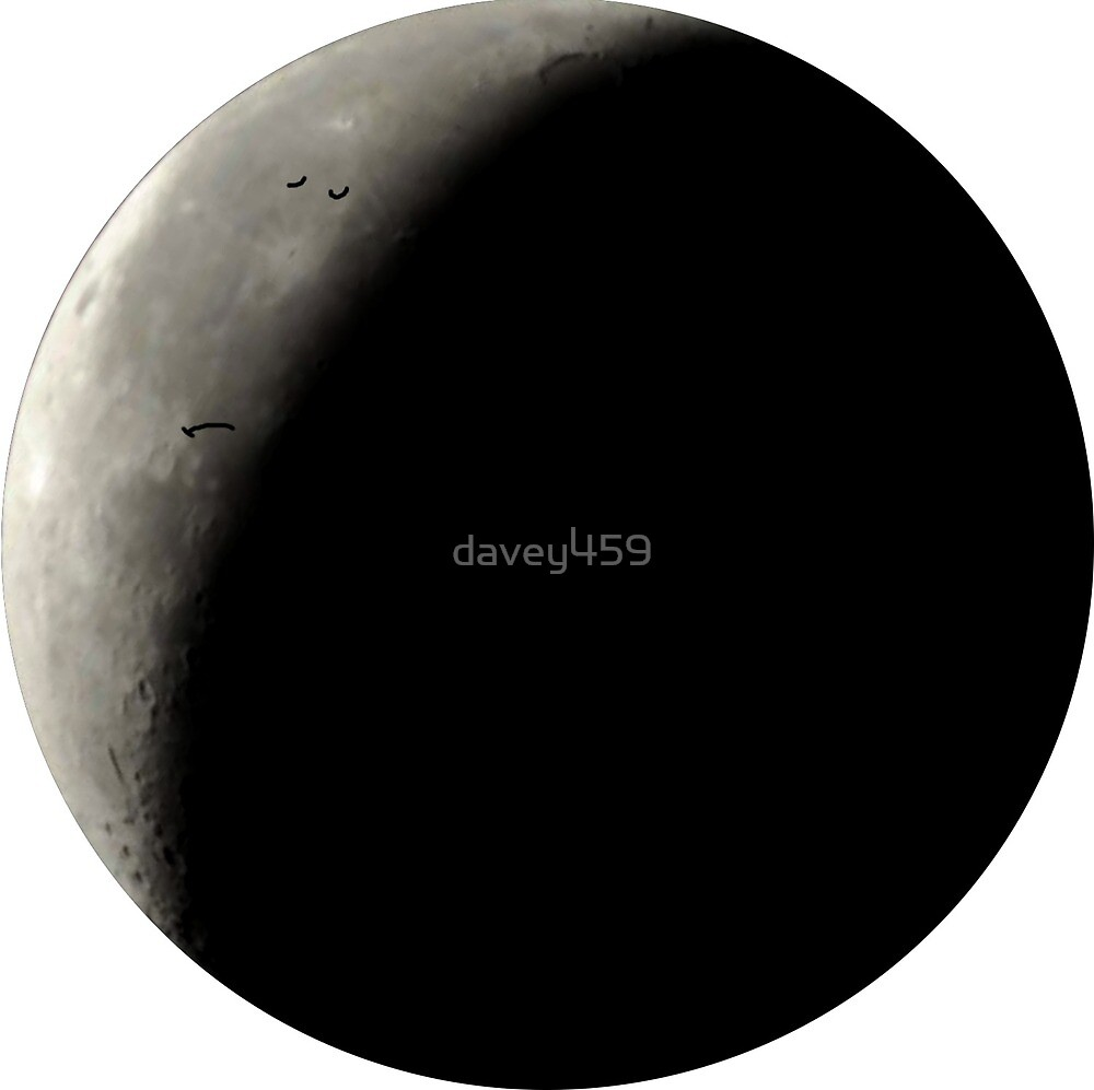 Sad Moon. by davey459