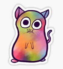 Groovy Cat Sticker