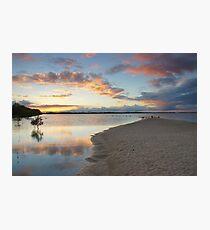 Sunset over Pumicestone Passage.  Photographic Print