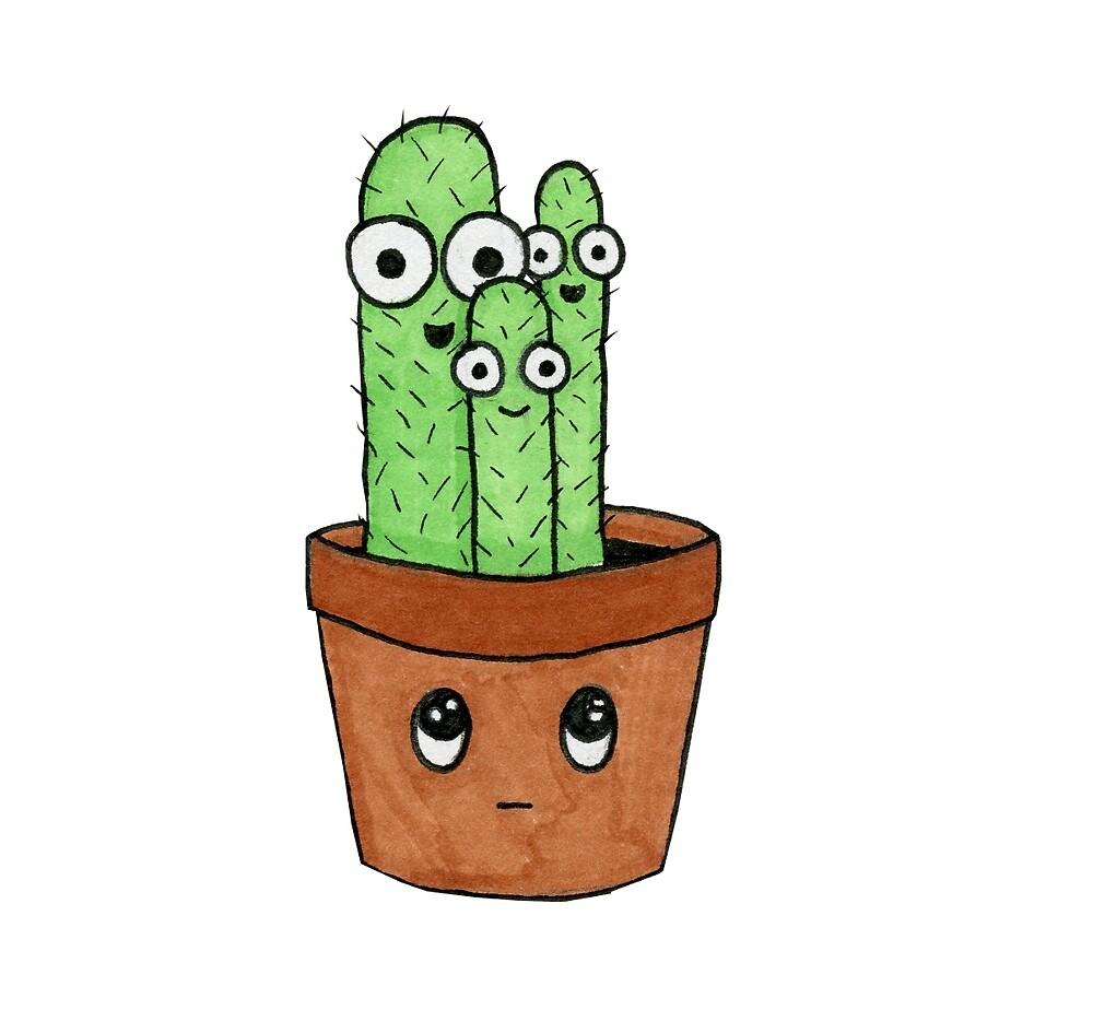 Cactus by LauraddoArt