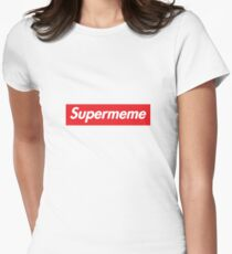 94bf2b92210b Supermeme Women s Fitted T-Shirt
