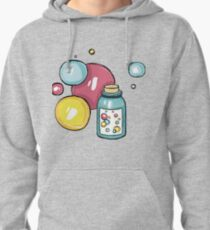 Soap bubbles Pullover Hoodie