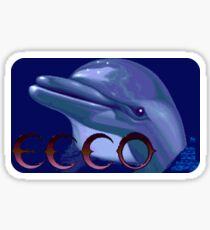Ecco the Dolphin (Genesis) Sticker