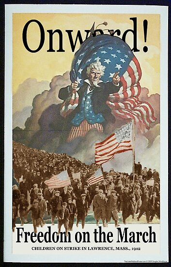 Union Posters: Freedom on the March by shaggylocks