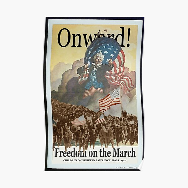 Union Posters: Freedom on the March Poster