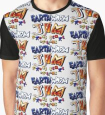 Earthworm Jim (SNES Title Screen) Graphic T-Shirt