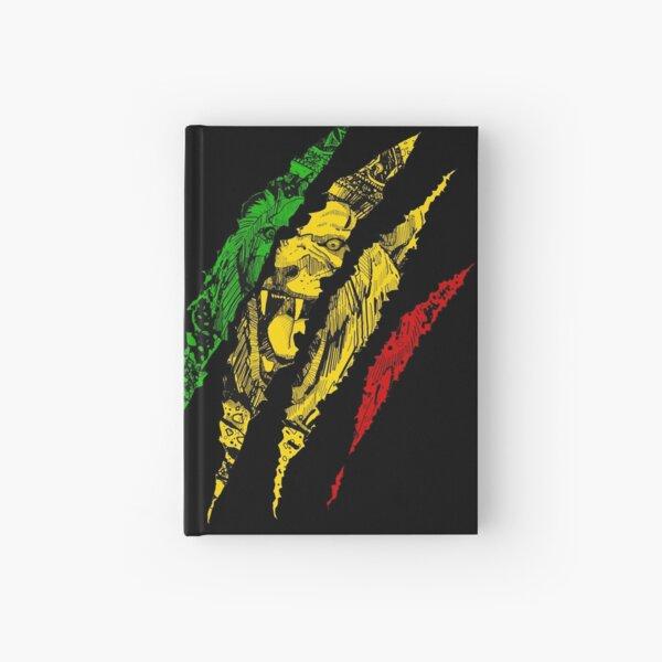 Krieger Löwe von Juda König Rasta Reggae Jamaika Wurzeln Notizbuch