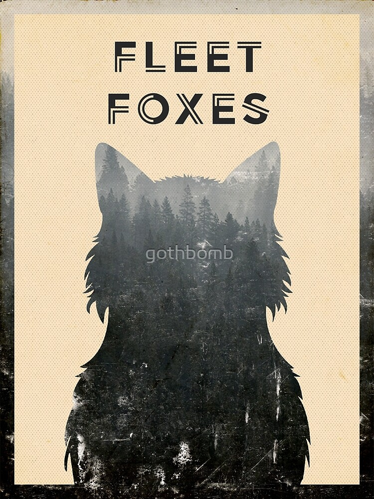 Fleet Foxes by gothbomb