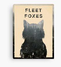 Fleet Foxes Leinwanddruck