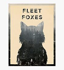 Fleet Foxes Photographic Print