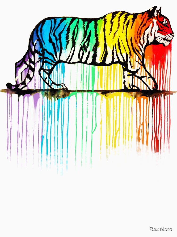 Rainbow Tiger by GirLilly