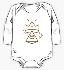 ALLSEEING EYE KING One Piece - Long Sleeve