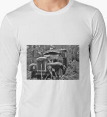 Mack Truck Black And White T-Shirt