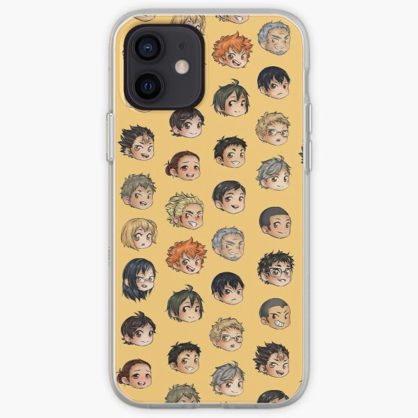 Haikyuu !! Karasuno Chibis Coque souple iPhone