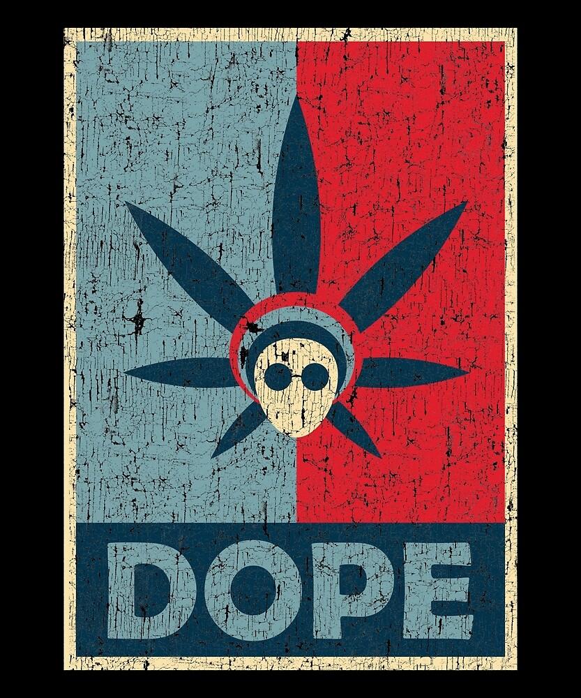 Dope Rastaman Smoker Marijuana Weed Design by roarr