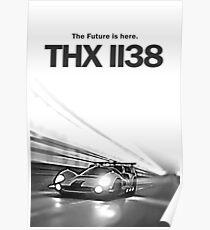 THX-1138 Movie Art Poster