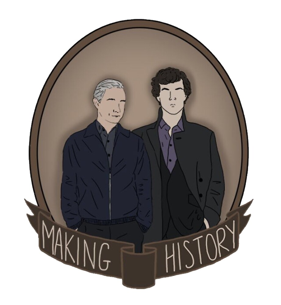 Sherlock And John - Making History by ice-cold