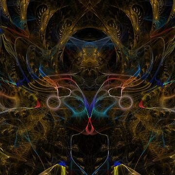 Iterative Function Abstract 5 by CarburoMetalico