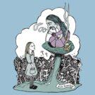 Hookah Smoking Caterpillar by Anita Inverarity