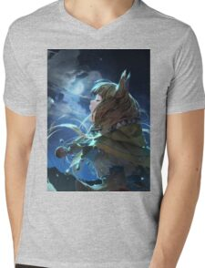 Horo the Wise Wolf Mens V-Neck T-Shirt