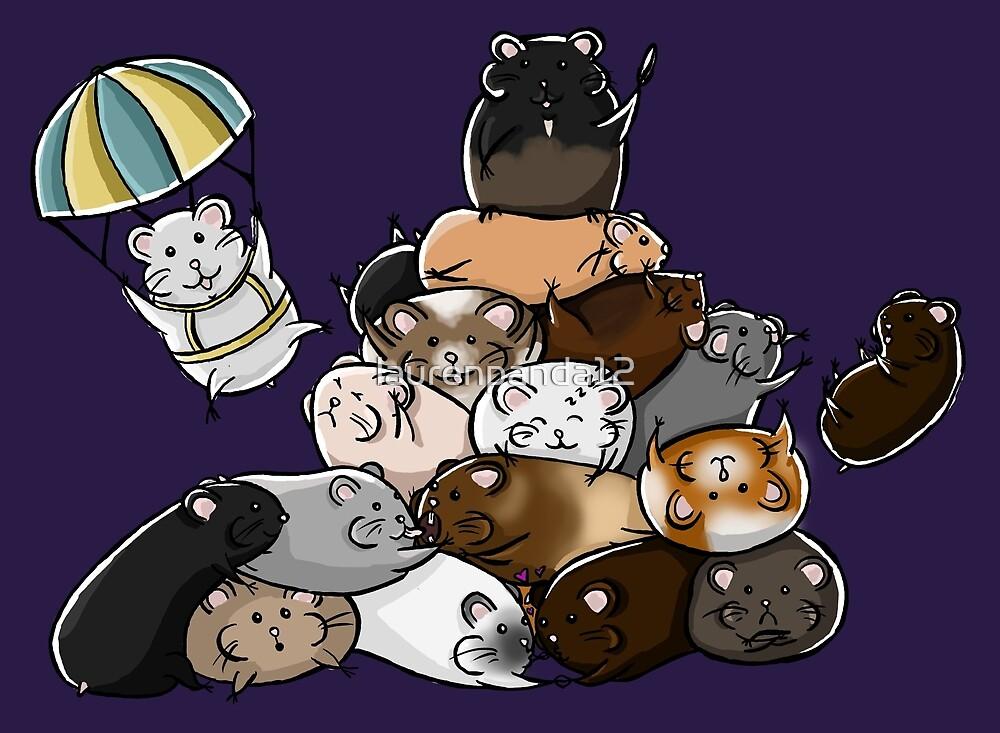 Pile of Hamsters by laurenpanda12