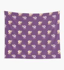 Peanut Butter Jellyfish Love Wall Tapestry