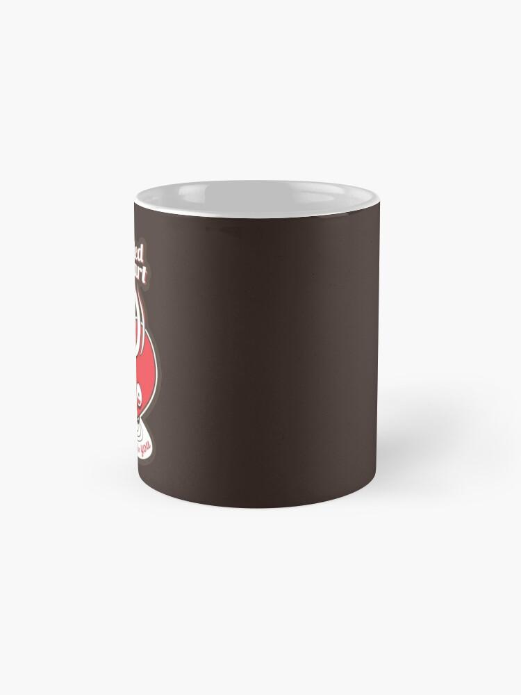 Alternative Ansicht von Mein koffeinhaltiges Herz Tassen