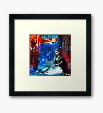 The Beginning of the Story Framed Print
