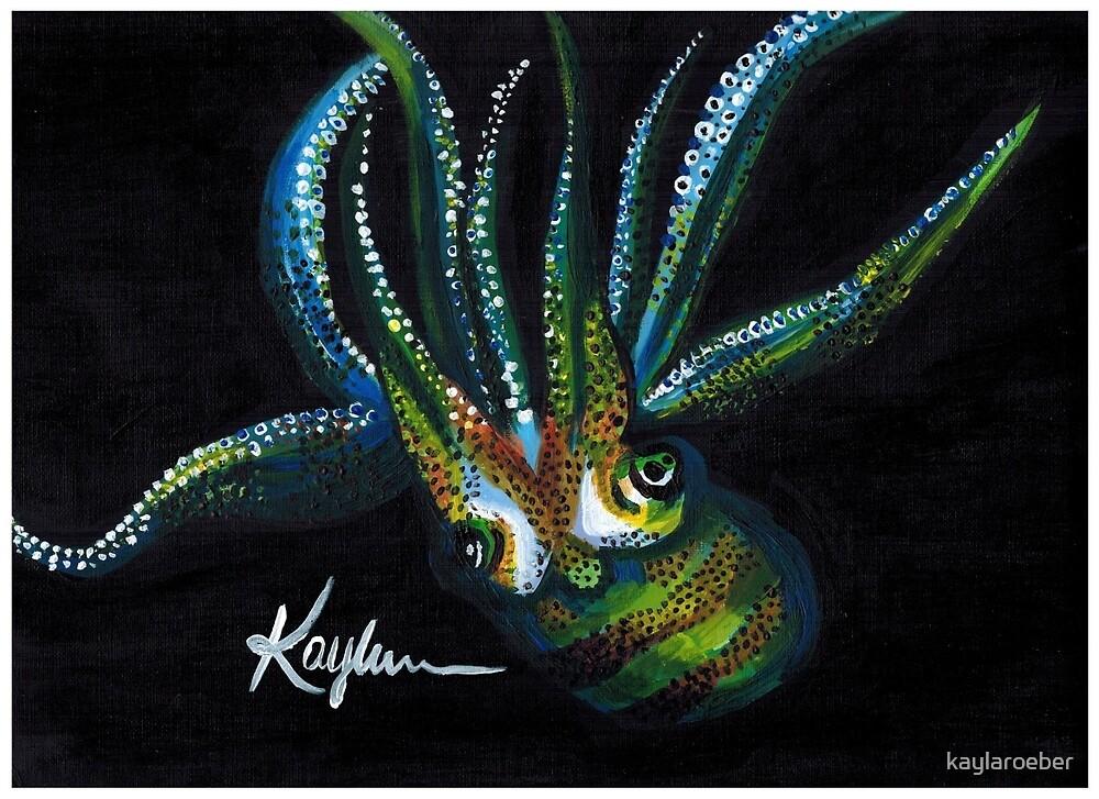 Giant Squid by kaylaroeber
