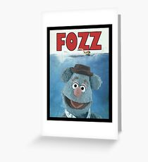 Fozz by Steven Spielberg Greeting Card