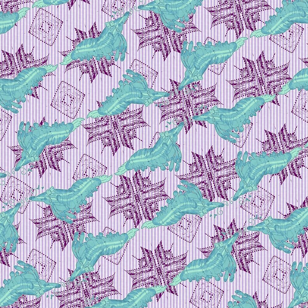 Shrimpi print by Weebkinz
