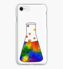 Rainbow Erlenmeyer iPhone Case/Skin