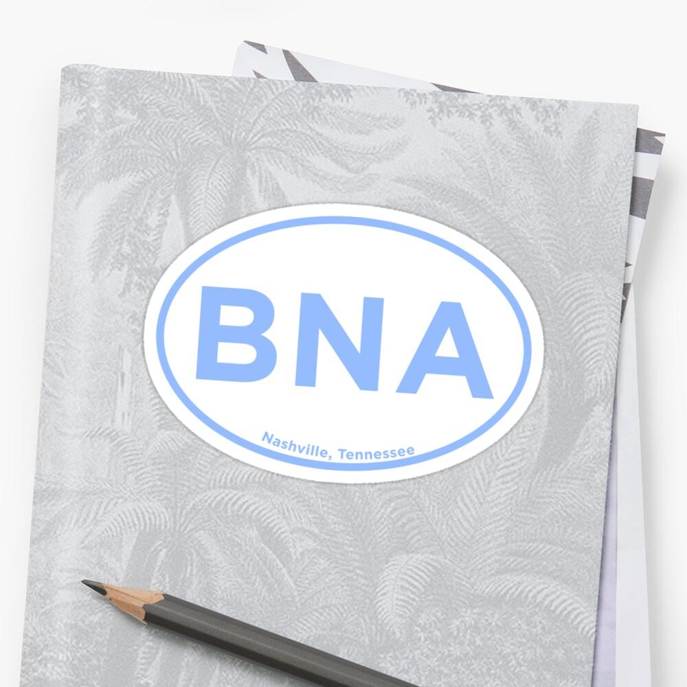 Nashville Airport Code BNA by laurajoy16