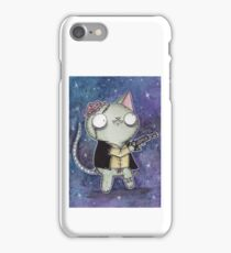 Zombie Han Solo Cat iPhone Case/Skin