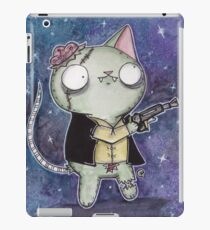 Zombie Han Solo Cat iPad Case/Skin