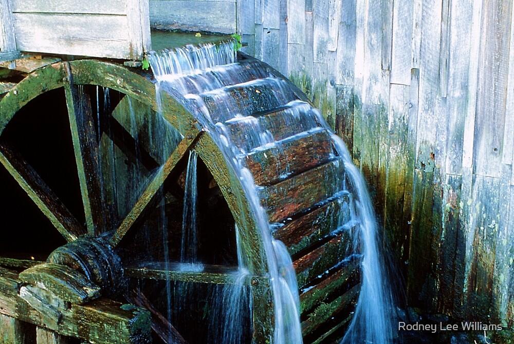 Water Wheel by Rodney Lee Williams