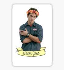 Team Jess - Flower Crown Sticker