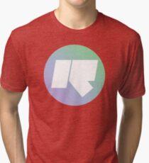 Rinse FM // High Quality // Lilac + Mint Green Tri-blend T-Shirt