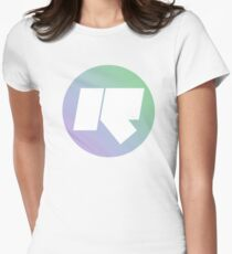 Rinse FM // High Quality // Lilac + Mint Green Womens Fitted T-Shirt