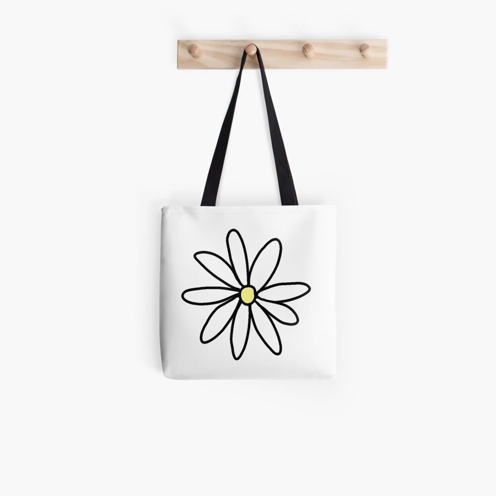 tumblr daisy Bolsa de tela