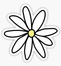Tumblr-Gänseblümchen Sticker