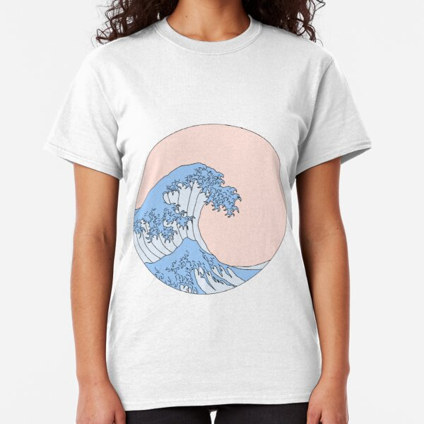 aesthetic wave Classic T-Shirt