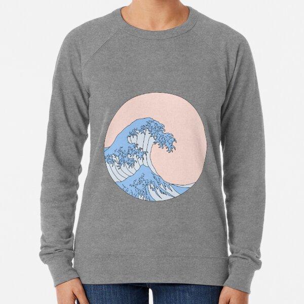 aesthetic wave Lightweight Sweatshirt