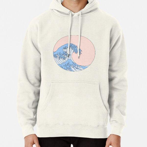 aesthetic wave Pullover Hoodie