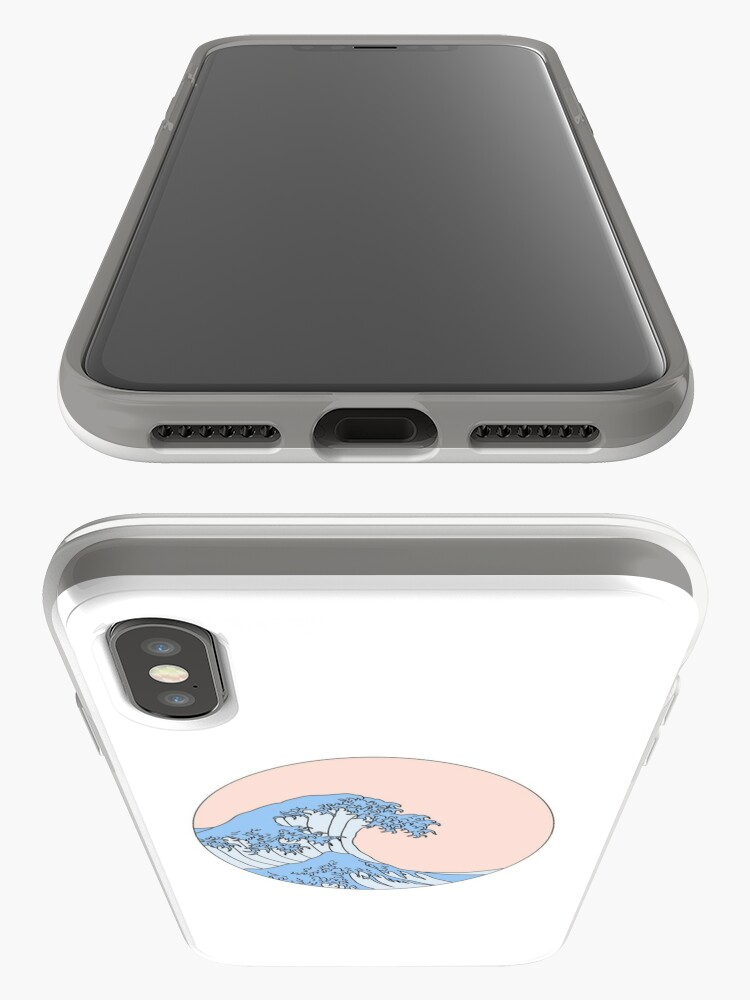 Alternate view of aesthetic wave iPhone Case & Cover