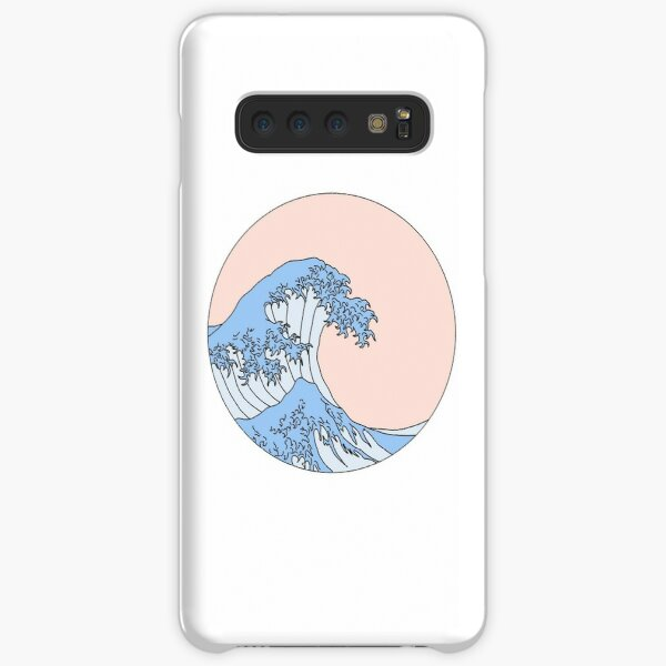 aesthetic wave Samsung Galaxy Snap Case