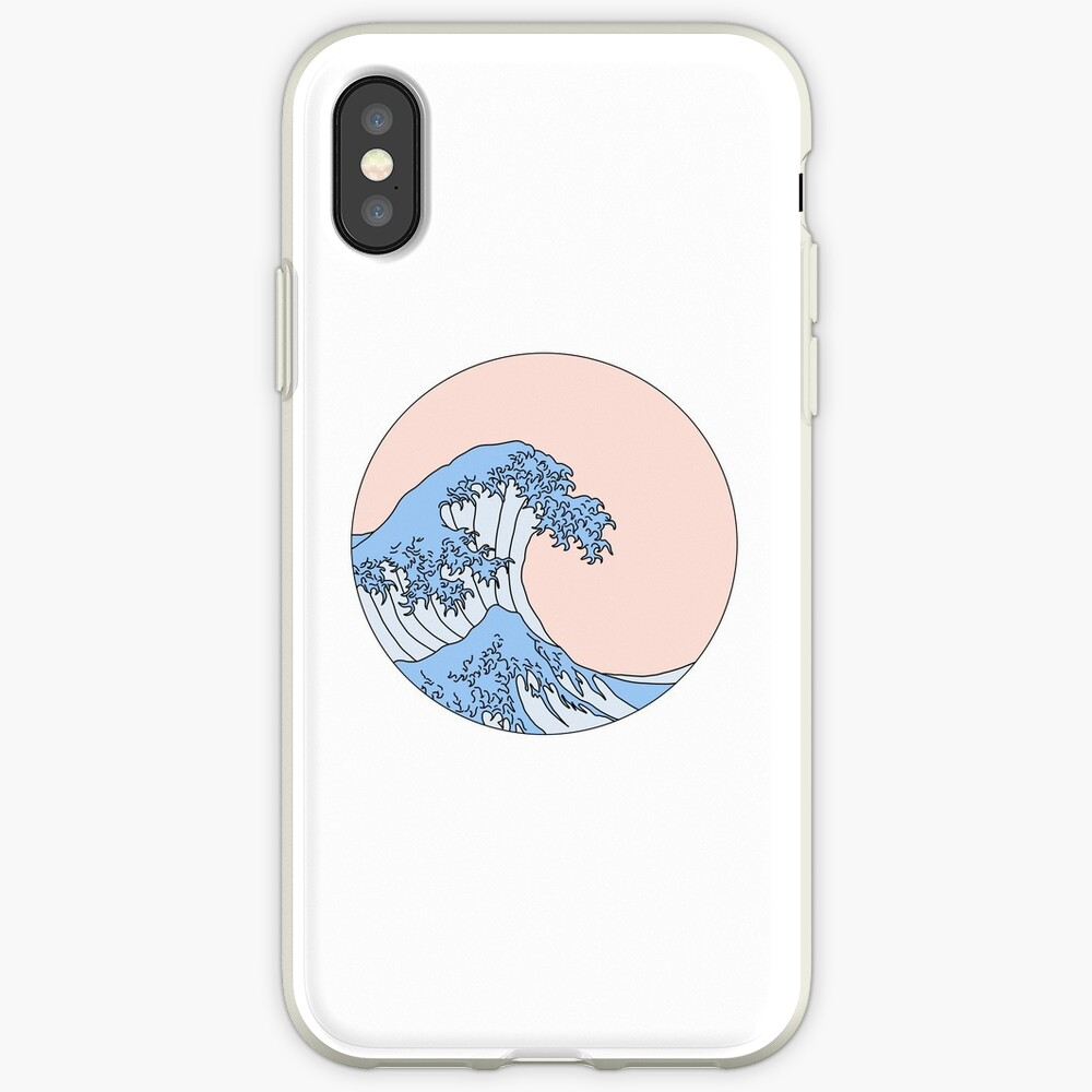 aesthetic wave iPhone Case & Cover