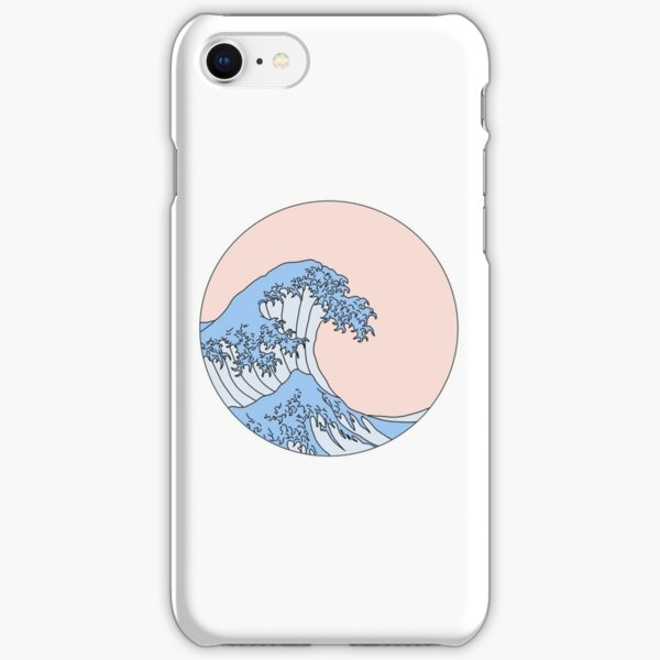 aesthetic wave iPhone Snap Case