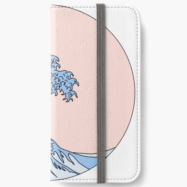 aesthetic wave iPhone Wallet