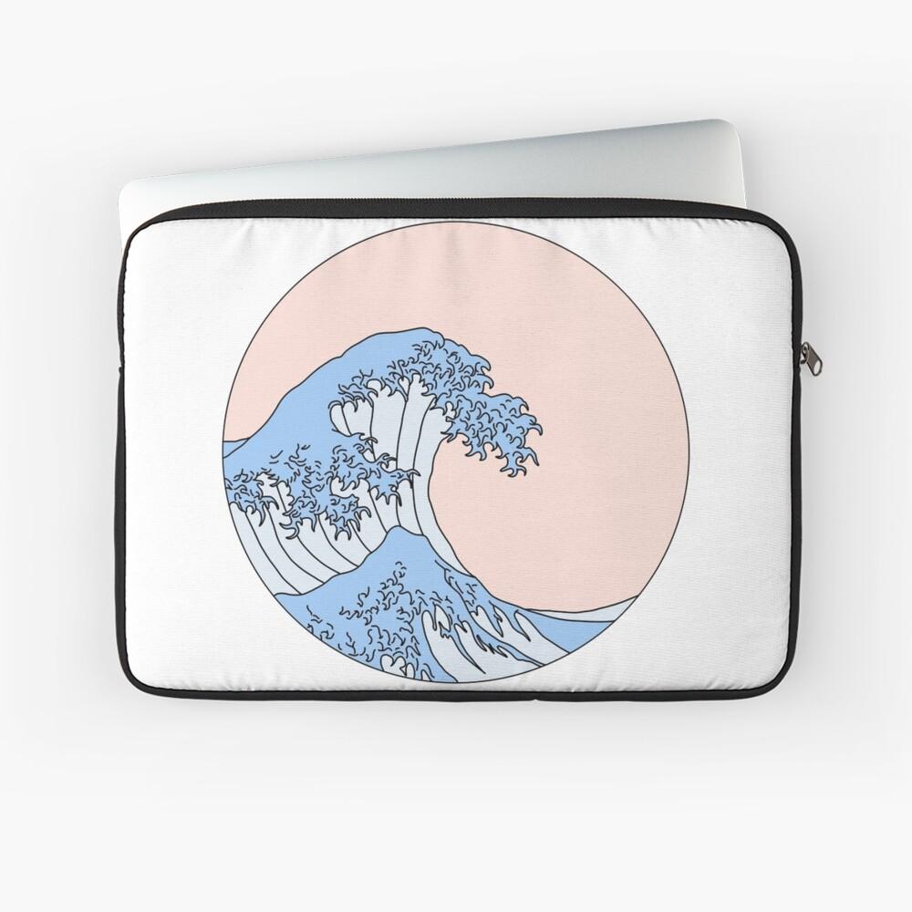 aesthetic wave Laptop Sleeve
